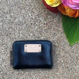 Kate Spade Black Mini Neda Wallet